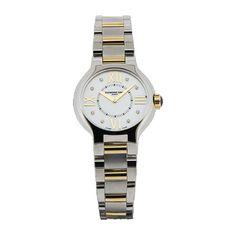 RAYMOND WEIL Noemia Diamond Set Bi-Metal Ladies Watch MX8533 from Beaverbrooks the Jewellers