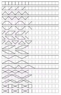 Tracing Worksheets, School Worksheets, Worksheets For Kids, Blackwork Patterns, Blackwork Embroidery, Toy Story Halloween, Visual Perception Activities, Graph Paper Art, Free Motion Quilting