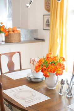 Accent your table top with Placesetting Placemats