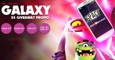 NextCasino has started a new promotional week where during the weekend you are able to win a Samsung Galaxy S5 phone. But you are also able to claim different bonuses and free spins for the next da...