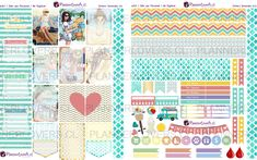 Free Printable Girls Just Wanna Have Fun Planner Stickers