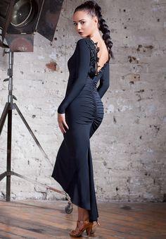 Chrisanne Clover Sapphire Latin Dress|Dresses