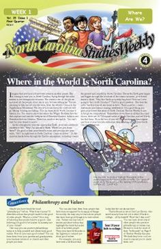 North Carolina Fourth Grade | Social Studies - My students love this!  So much better than our dusty, beat-up old textbooks!