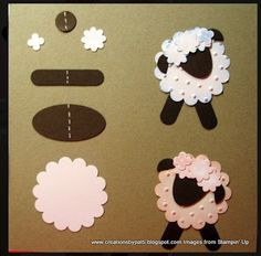 Scraps In My Life: Exploring Cricut Design Space: Shapes, Shapes and Sheep!