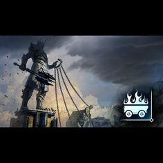 Gorthaur der Grausame - Zerstöre das Tor am Monument und stürze Saurons Statue. #shadowofmordor #xboxone #xbox #achievement #gamer #lotr #hdr #happy