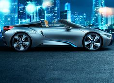 BMW i8 Spyder........This is one of the best looking cars I have ever seen. Question is where's mine.....
