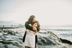 engagement shoot at Muriwai beach, Auckland avosa.co.nz