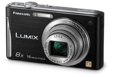 Panasonic DMC-FH25K 16.1MP Digital Camera with 8x Wide Angle Image Stabilized Zoom and 2.7 inch LCD (Black) $129.95