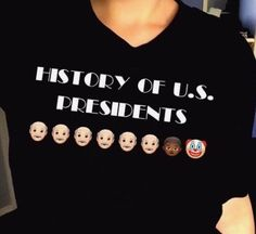 History of the US presidents.