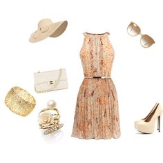 Classy summer outfit. Love, love, love this!!