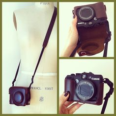 My new camera - Canon G15 and faux leather case, MoonRox | the journal