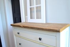 IKEA shoe cabinet hack with barnwood7