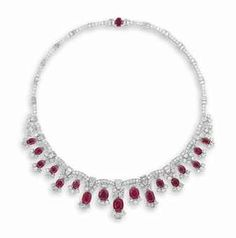 RUBY AND DIAMOND NECKLACE Price realised  CHF 199,500 Estimate  CHF 150,000 - CHF 250,000