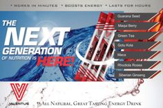 Valentus' Prevail Energy. All Natural energy drink