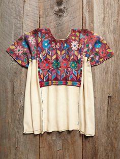 Vintage Guatemalan Huipil at Free People Clothing Boutique
