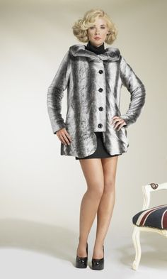 Grey Winter Wonderland Jacket