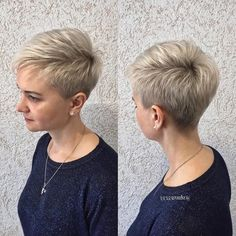 Curly Pixie Haircuts, Pixie Haircut Styles, Pixie Haircut For Thick Hair, Short Hair Undercut, Haircuts For Fine Hair, Older Women Hairstyles, Pixie Hairstyles, Edgy Short Hair, Short Hair With Layers