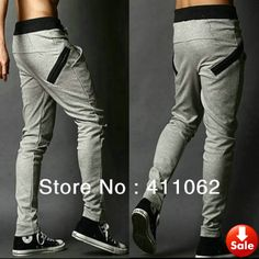 NEW Men Casual Sporty Athletic Sport Gym Workout Fleece Sweatpants Sweat Pants Hip Hop Dance Trousers Slacks Joggers-in Pants from Apparel &...