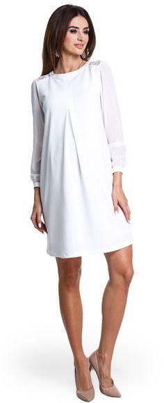Cocktail cream белое нарядное платье для будущих мам