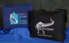 "Whale Logo Totebag and Terror of the South Totebag 15""x13"" Totes  High quality canvas with a zipper compartment inside. $16.95 each"