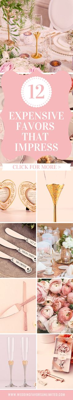 Expensive Wedding Pricey Favors that Impress Looking to stun your wedding guests? Break out the big guns with these. Diy Wedding Planner, Wedding Planning Tips, Wedding Ideas, Wedding Favors Unlimited, Wedding Favors Cheap, Spring Wedding Decorations, Summer Wedding Colors, Perfect Wedding, Dream Wedding