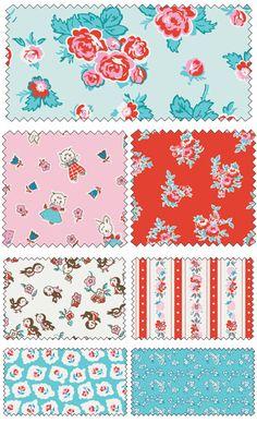 Milk Sugar Flower by Elea Lutz for Penny Rose Fabrics