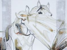 SOLD Congratulations to the new owner! Art Work, Appreciation, Congratulations, Horses, Ink, Fine Art, Coffee, Artwork, Work Of Art