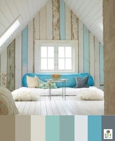7 Awesome Attic Transformations | Pinterest | Attic Living rooms and Room & 7 Awesome Attic Transformations | Pinterest | Attic Living rooms ...
