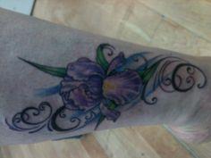 Iris tattoo