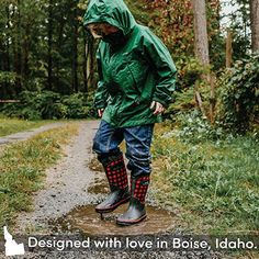 Warm Neoprene Boots for Snow Rain and Muck LONECONE Insulating All Weather MudBoots for Toddlers and Kids