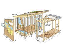 Wunderbar Skizze Gartenhaus