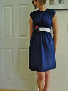 La petite robe en jersey | tutoriels de couture | Blog de Petit Citron