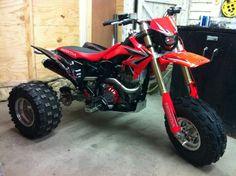 Honda 3 wheeler with 450R motor