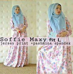 FREE ONGKIR PONTIANAK, Soffie Maxy fit L@158.000-dress+pasmina, order WA 082255698636,pinBB 578FE11F
