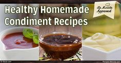 If your dish needs additional flavor on the side, make sure you have these homemade condiments – ketchup, mayonnaise and gluten-free barbeque sauce – ready at your disposal.