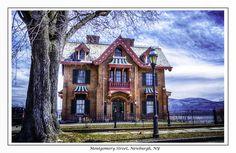 Historic house, Montgomery Street, Newburgh, NY [across the street from my mom's house]