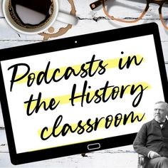 """I love to incorporate podcasts into my U.S. History classes. I don't always have time to share an entire episode so sometimes I share short """"snippets"""" of episodes. This one is from American History Tellers: Rise of the Robber Barons. Howard Zinn, Bell Work, Bell Ringers, History Class, Have Time, Infinite, American History, Middle School, Naruto"""