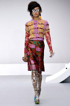 Louise Gray Spring 2013, Vogue