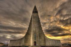#Reykjavik #Iceland Church #hdr