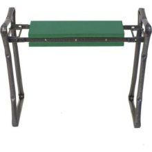 """Garden Kneeler prevents sore knees caused by kneeling on the ground and back pain caused by stooping and bending (shown as a seat - flip over for kneeler!)  Cushioned comfort, but it also helps protect your clothes from dirt and grass stains.  Weight: 8 lbs Holds 250 pounds  . . . Legs lock securely for safety.  Folds flat for storage. Dimensions: 24"""" x 11"""" x 5"""" . . . the """"Yard Butler GKS-2"""" available at Home Depot, Wal-Mart and Garden.com"""