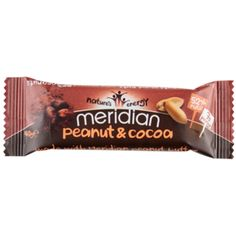 Meridian Peanut & Cocoa Bars | Meridian Foods - Official Trade Sports Nutrition Distributor | Tropicana Wholesale