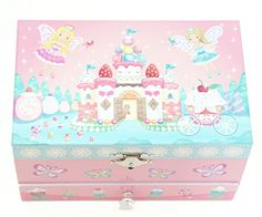 """Lily & Ally Sweets Fairy Musical Jewelry Box, sweets castle, cupcakes tower, with music tune """"when you wish upon a star"""" Kids Jewelry Box, Flower Girl Jewelry, Musical Jewelry Box, Star Jewelry, Little Girl Gifts, Little Girl Birthday, Dress Up Costumes, Boy Costumes, Butterfly Fairy"""