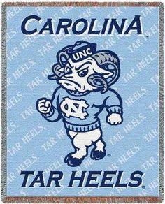 University of North Carolina Tar Heels Throw Blanket