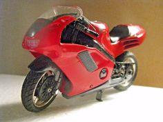 TOY DIECAST RED HONDA NR MOTORCYCLE #Honda