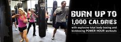 Burn up to 1,000 calories with explosive POWER Hour workouts  Joined July 1st, 2012