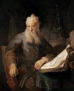 Rembrandt van Rijn - The Apostle Paul / Rembrandt / c.1630