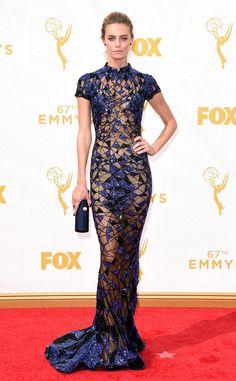 Christine Marzano in Labourjoisie at the 2015 Emmys