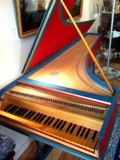 Klavecimbel italian antique piano!