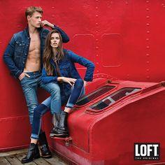 #LoftJeans #denim #Loft #fashion #cool #trendy #style #denimcraze #stylish #getloftbeslim
