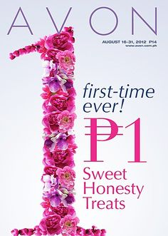 For making Avon the country's No. 1 Fragrance brand, we're giving you these Sweet Honesty Treats for only P1! Check out the August 16-31 brochure to know more about this great offer! #fragrance #perfume #deal #treats #sweethonesty #avon #avonbrochure